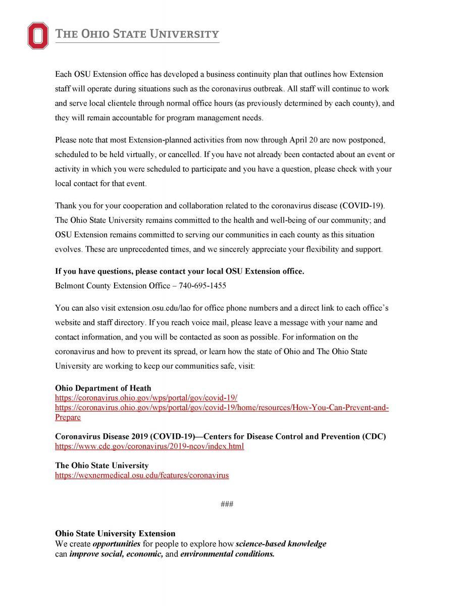 COVID-19 Press Release pg2